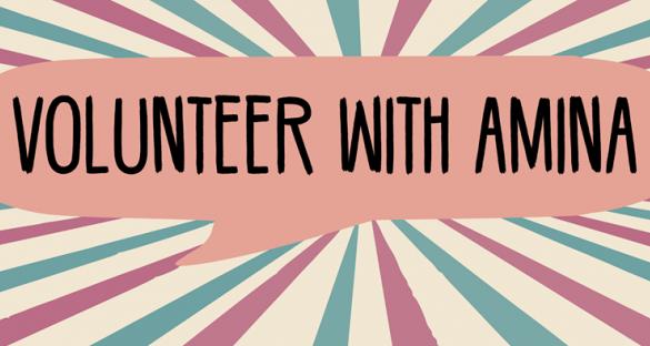 volunteer with Amina