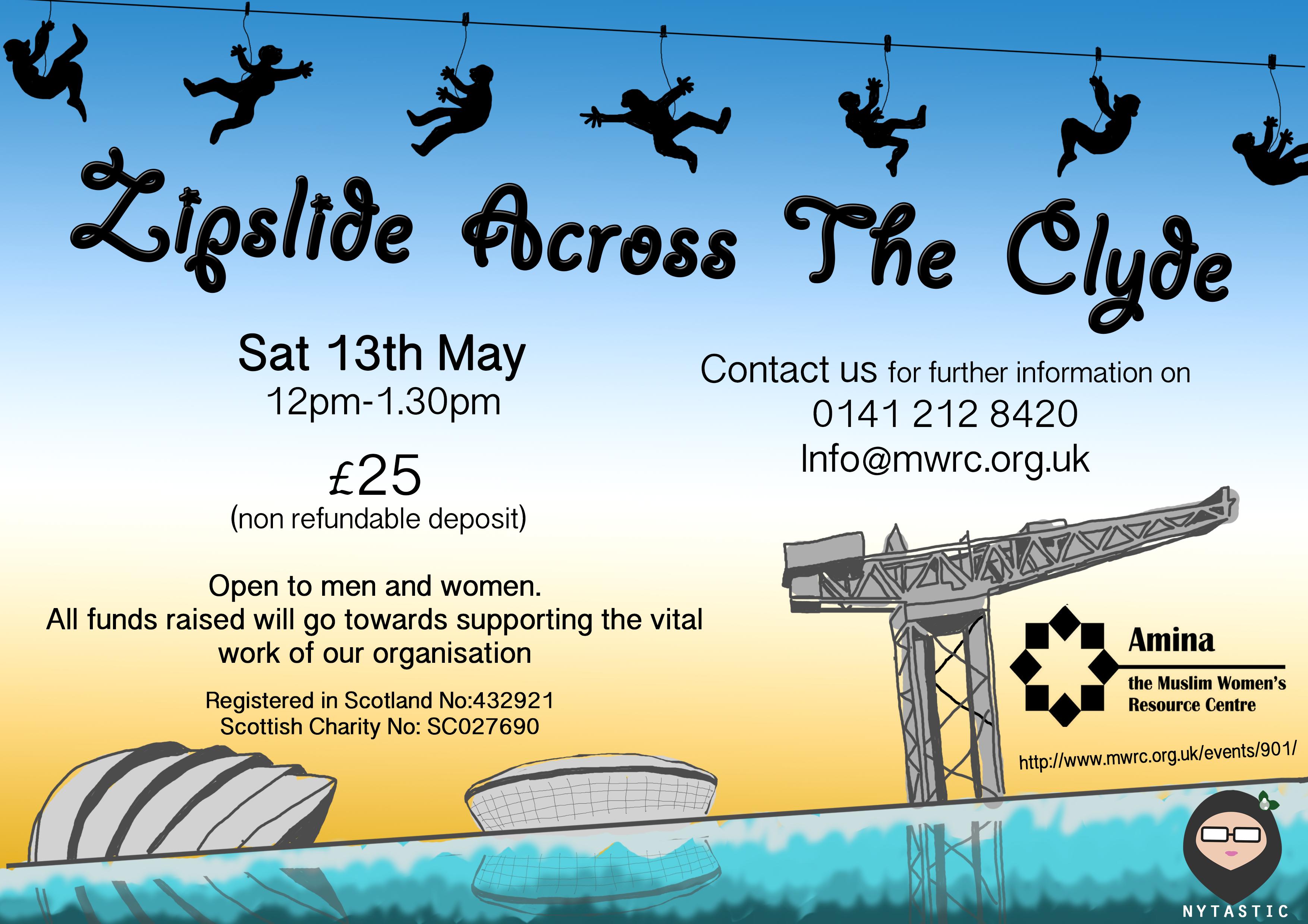Zipslide Across The Clyde