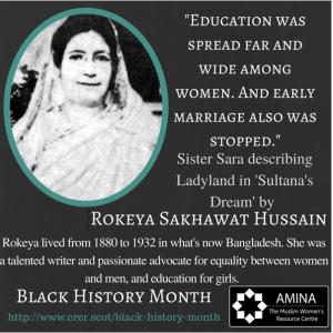 BHM - Rokeya Hussain