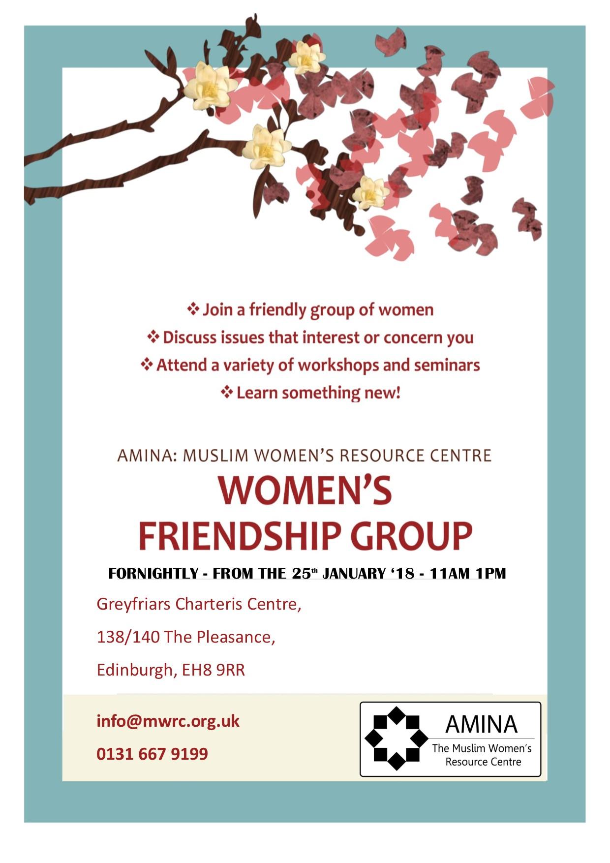 Women's Friendship Group - Edinburgh