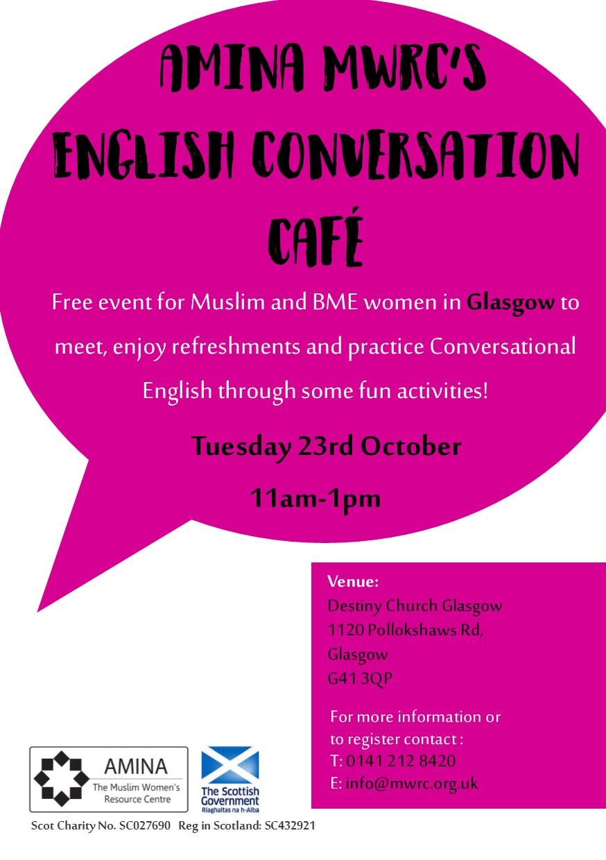English Conversation Cafe - Glasgow