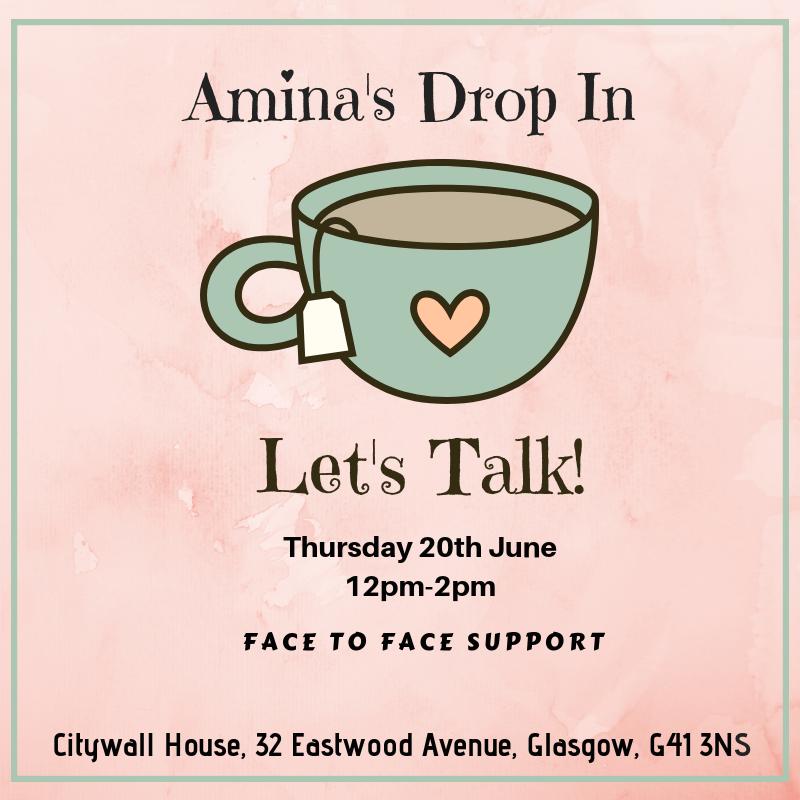 Amina Drop In - Glasgow