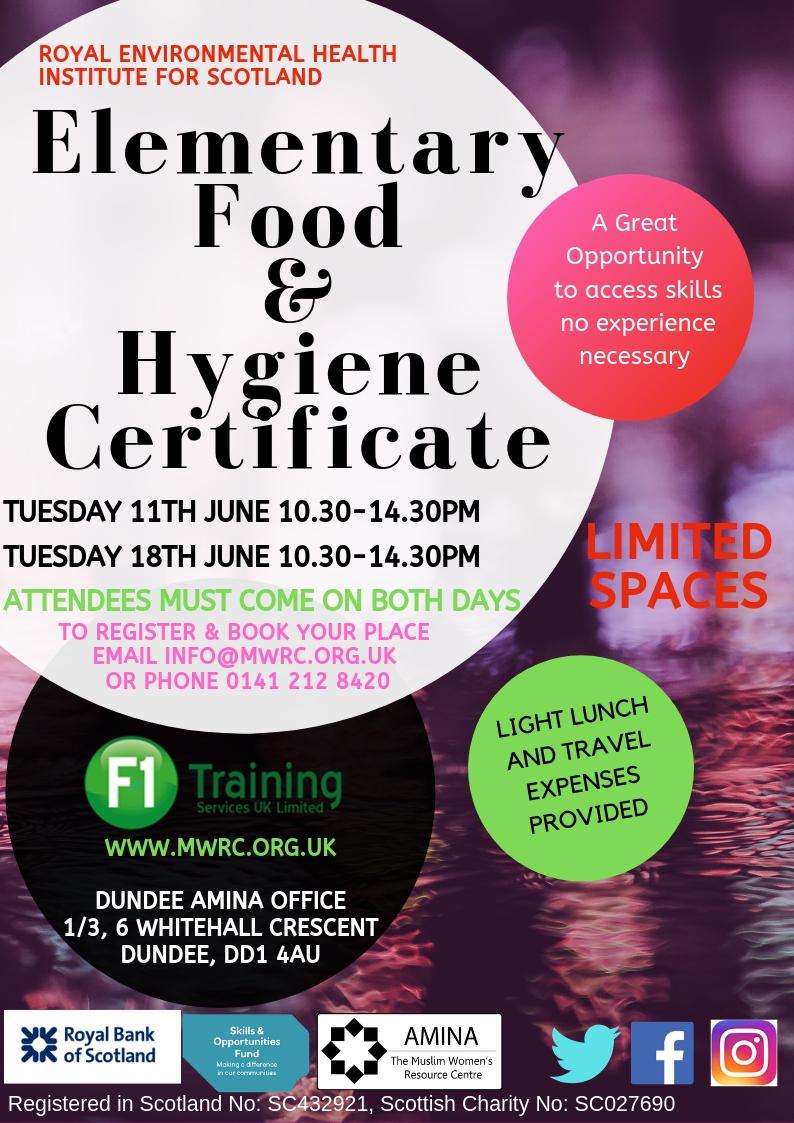 Food Hygiene - Dundee